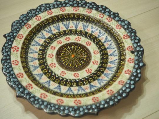 トルコ土産 キュタフヤ陶器のお皿2