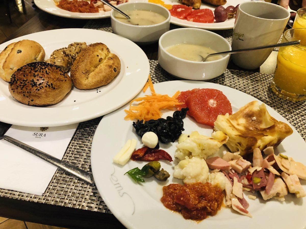 スラハギアソフィアホテル(Sura Hagia Sophia Hotel)の朝食1