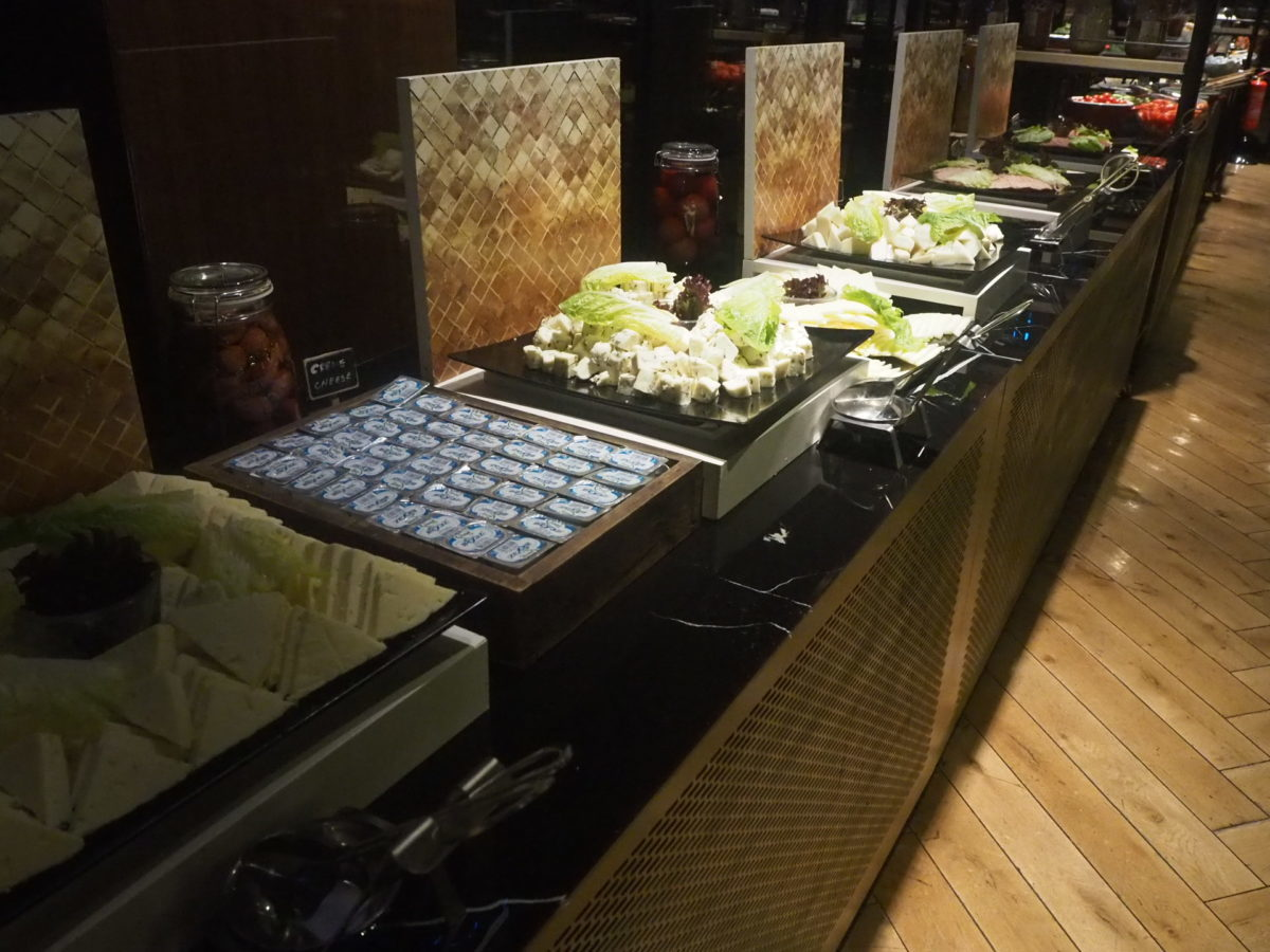 スラハギアソフィアホテル(Sura Hagia Sophia Hotel)の朝食チーズ