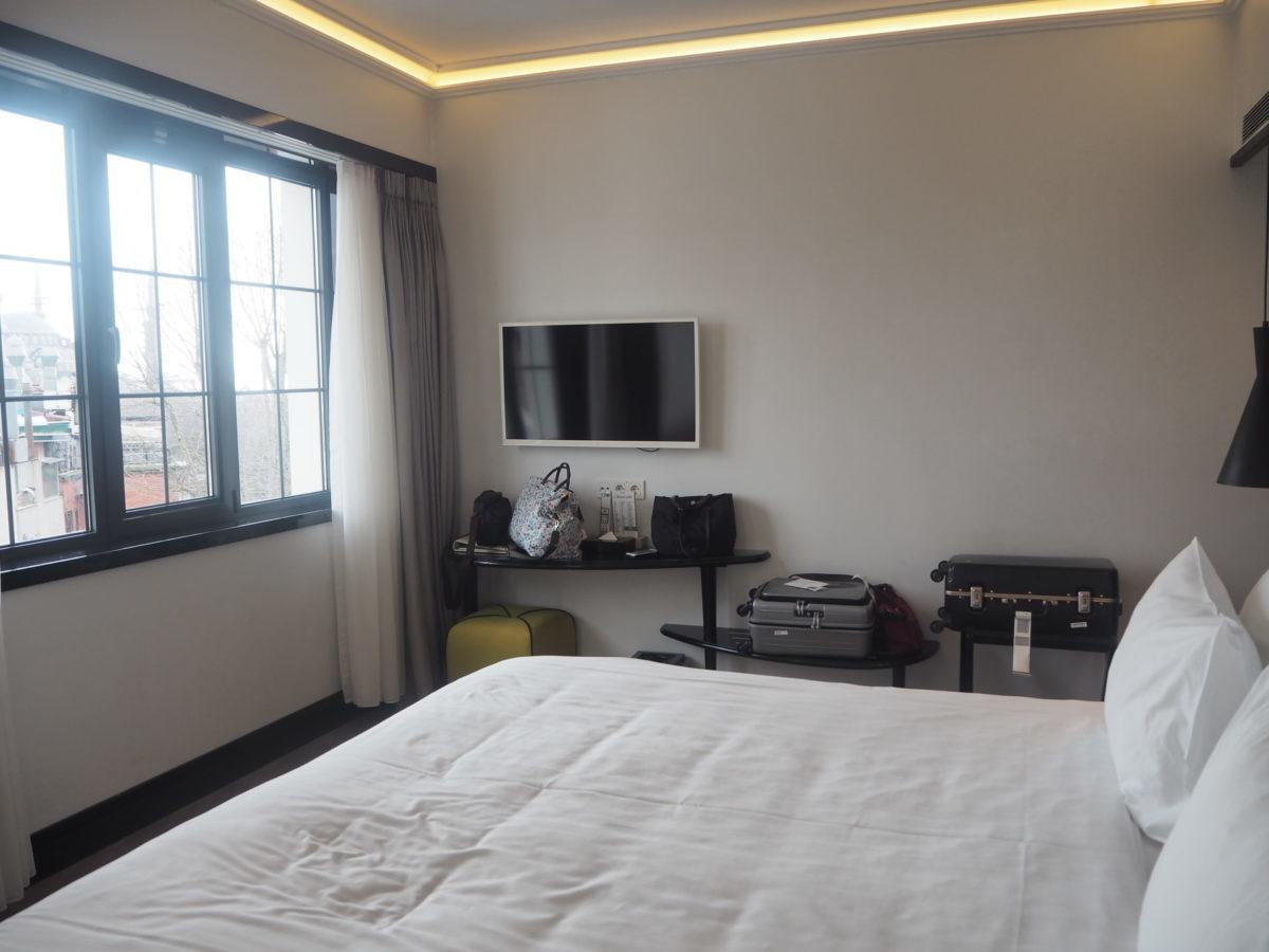 スラハギアソフィアホテル(Sura Hagia Sophia Hotel)のベッド