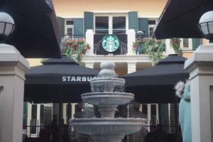 イスタンブール新市街のスタバ