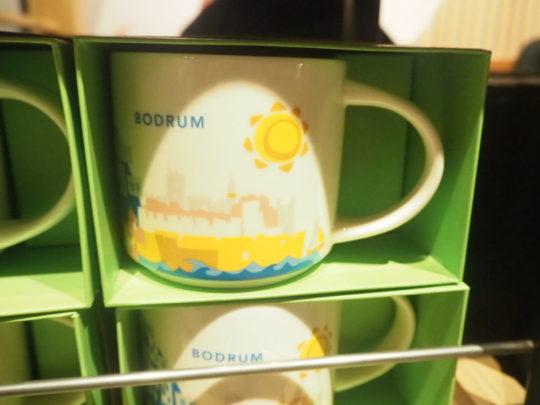 ボドルムデザインのスタバマグカップ