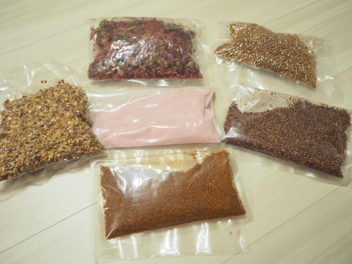 トルコで購入した各種お茶と香辛料