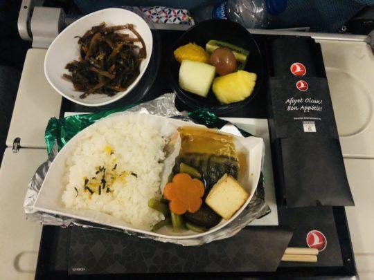 トルコ航空(ターキッシュエアラインズ)の機内食(朝食2:成田→イスタンブール )