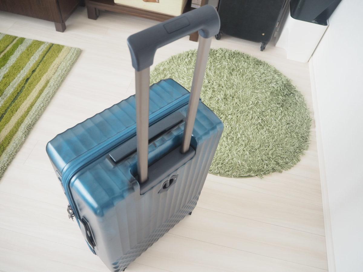 エース(ACE)のハントソロ(HaNT solo)スーツケースの持ち手