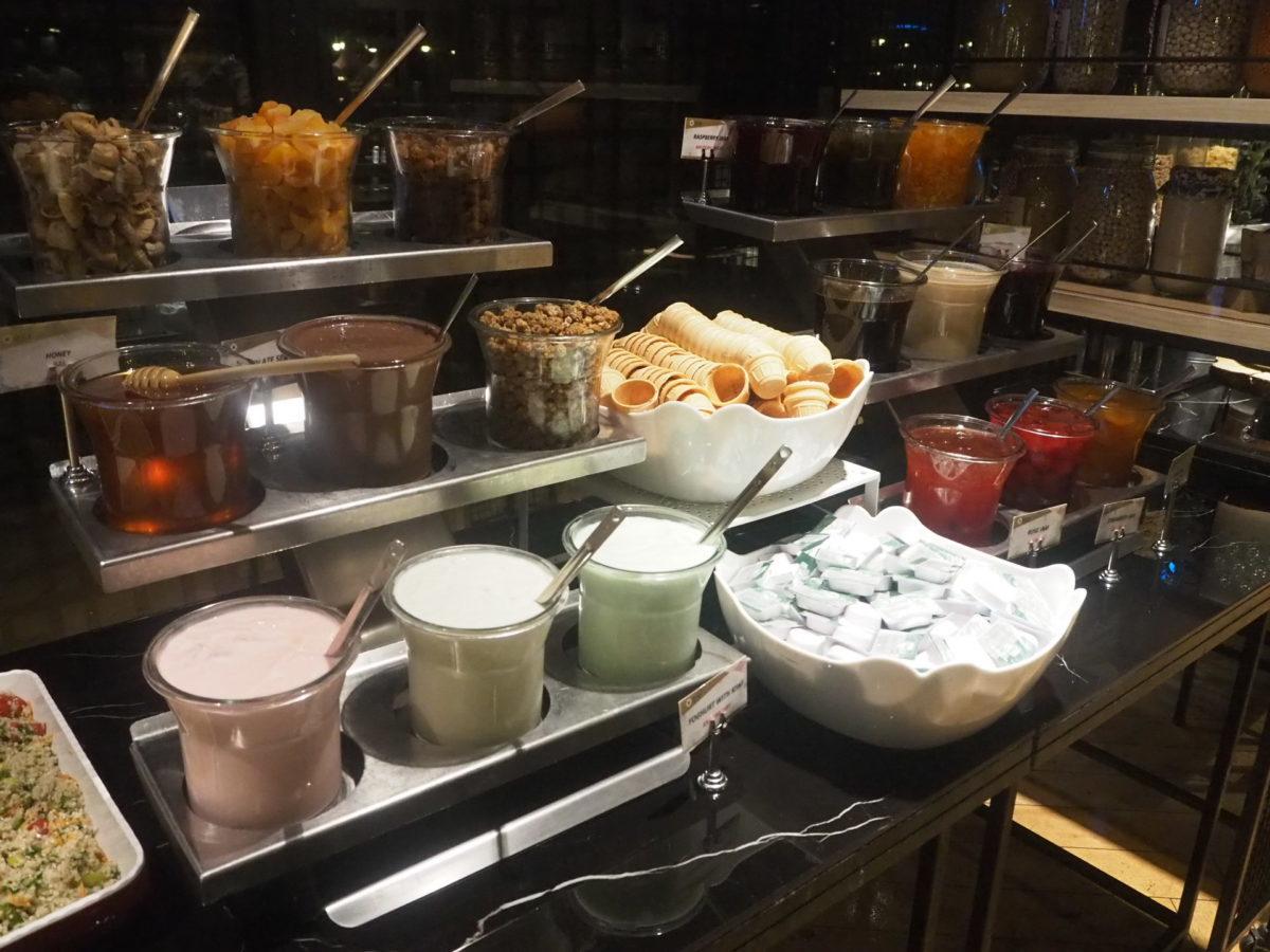 スラハギアソフィアホテル(Sura Hagia Sophia Hotel)の朝食ヨーグルト