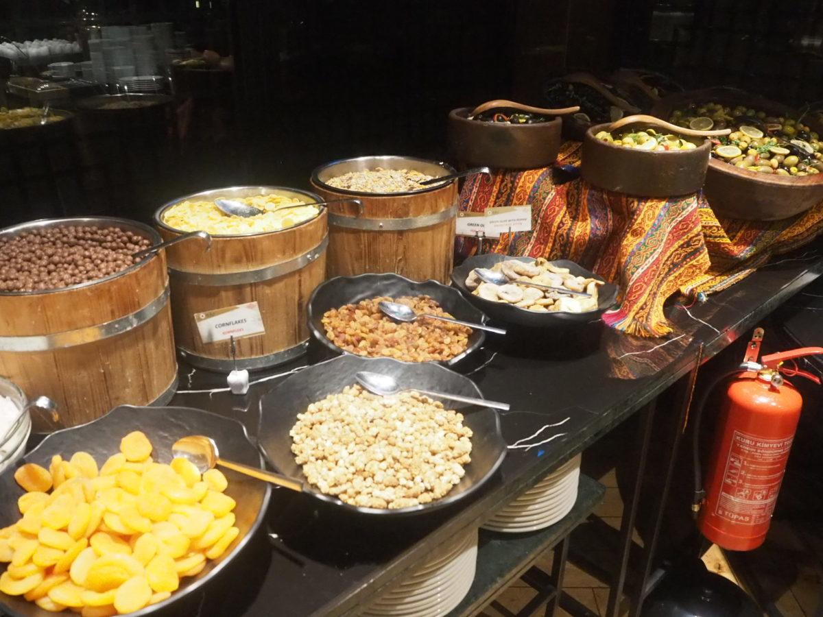 スラハギアソフィアホテル(Sura Hagia Sophia Hotel)の朝食シリアル