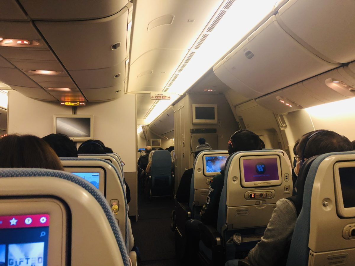 トルコ航空(ターキッシュエアラインズ)の機内