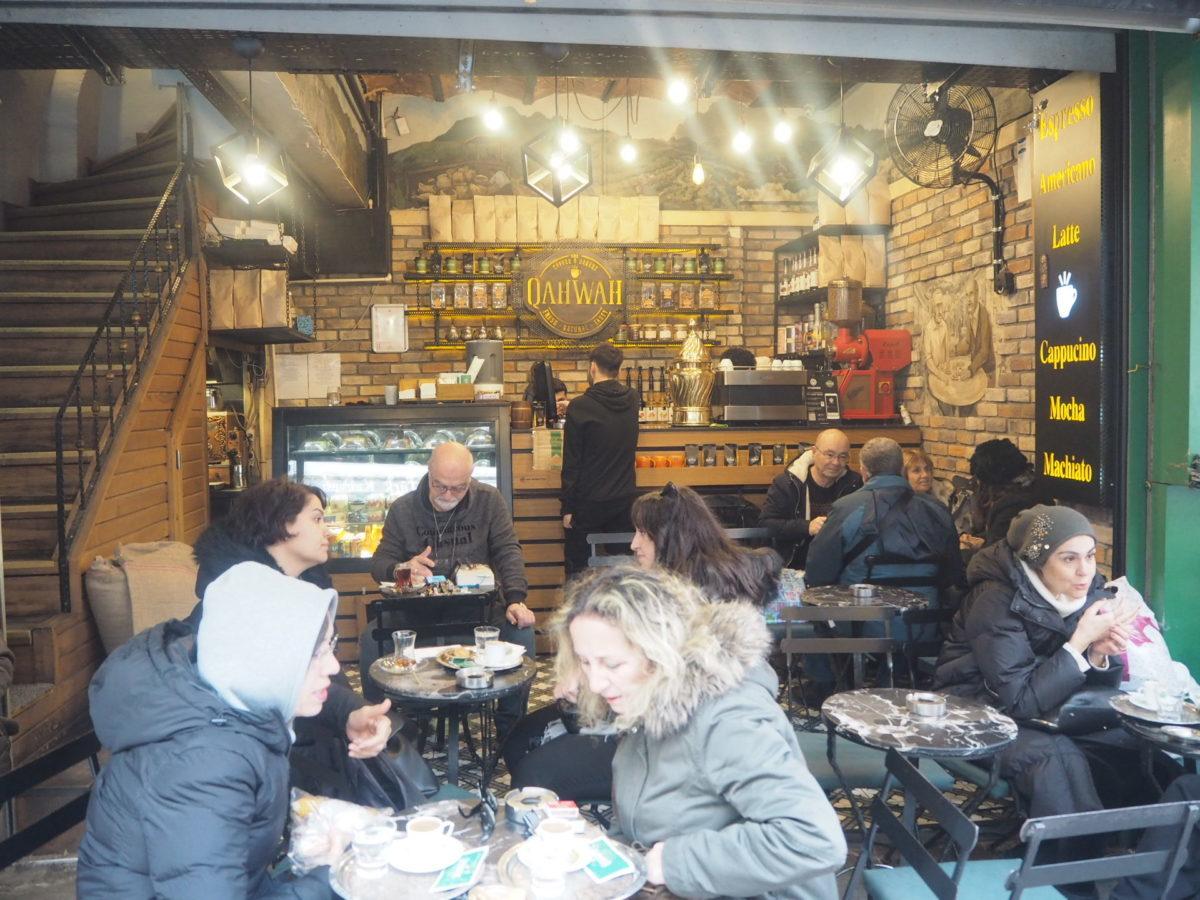 イスタンブールのおしゃれなカフェ