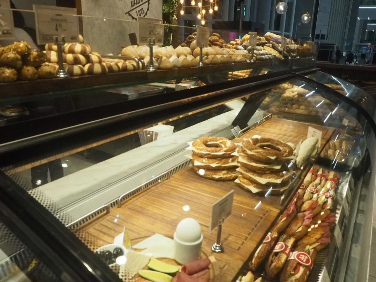 イスタンブール新空港のパン屋