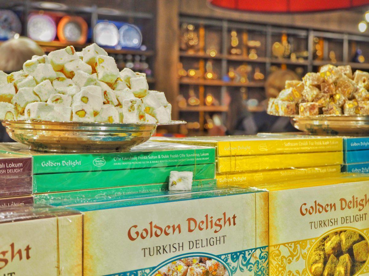 トルコの伝統的なお菓子ロクム