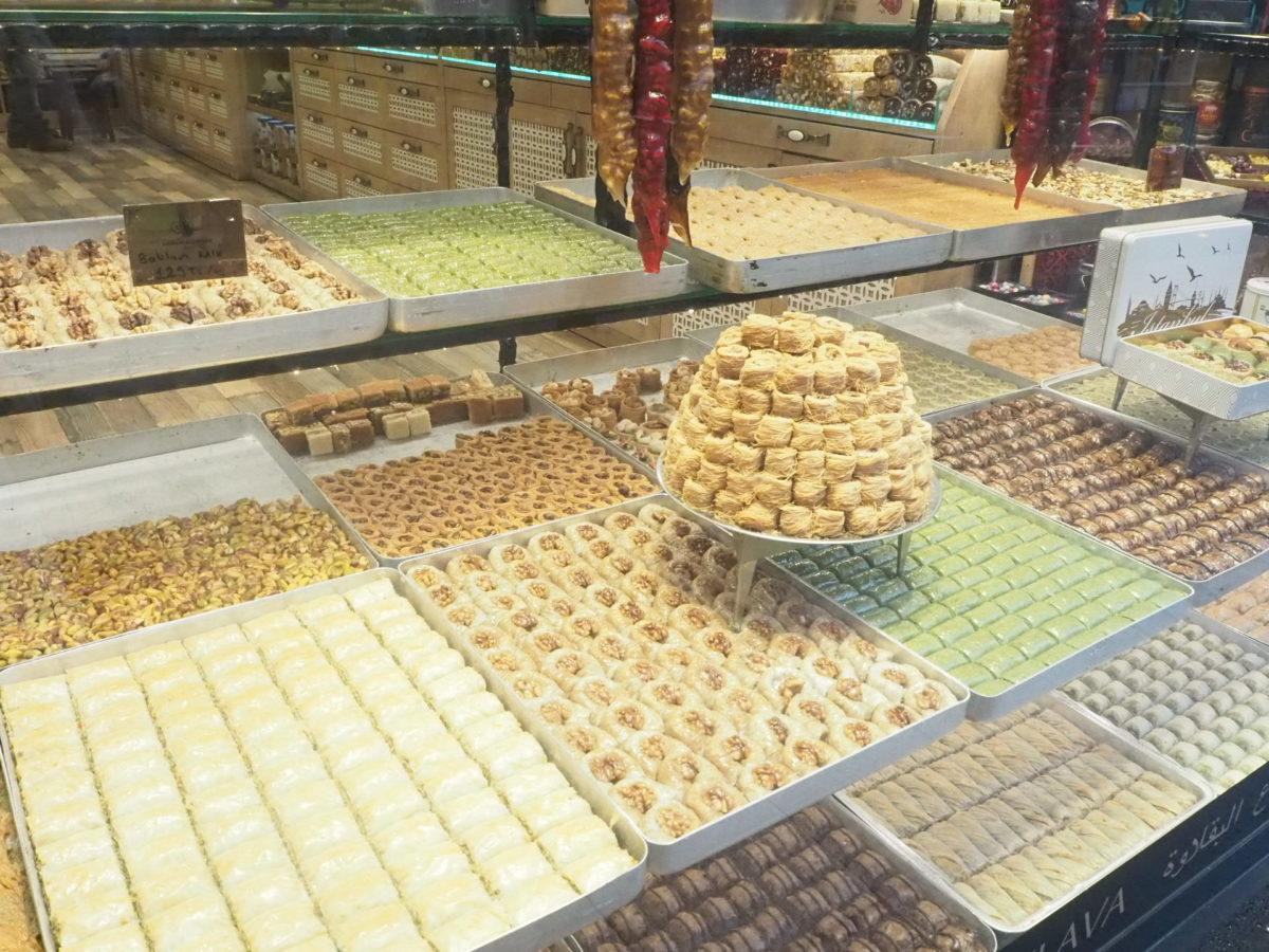 トルコの伝統的なお菓子バクラヴァ