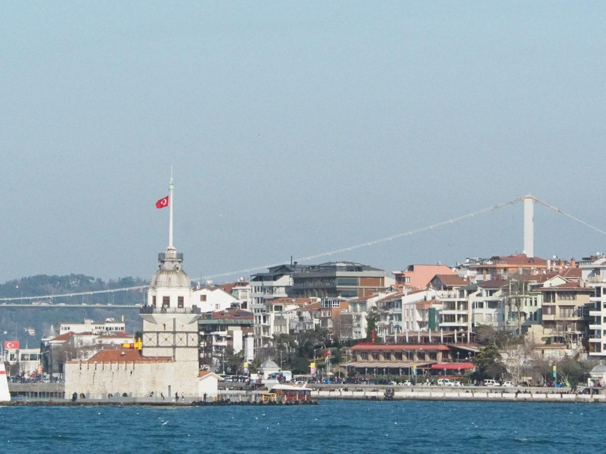 イスタンブールアジア側の乙女の塔