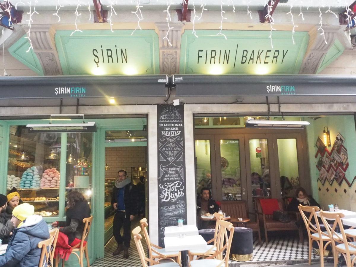 トルコのパン屋さん兼カフェ