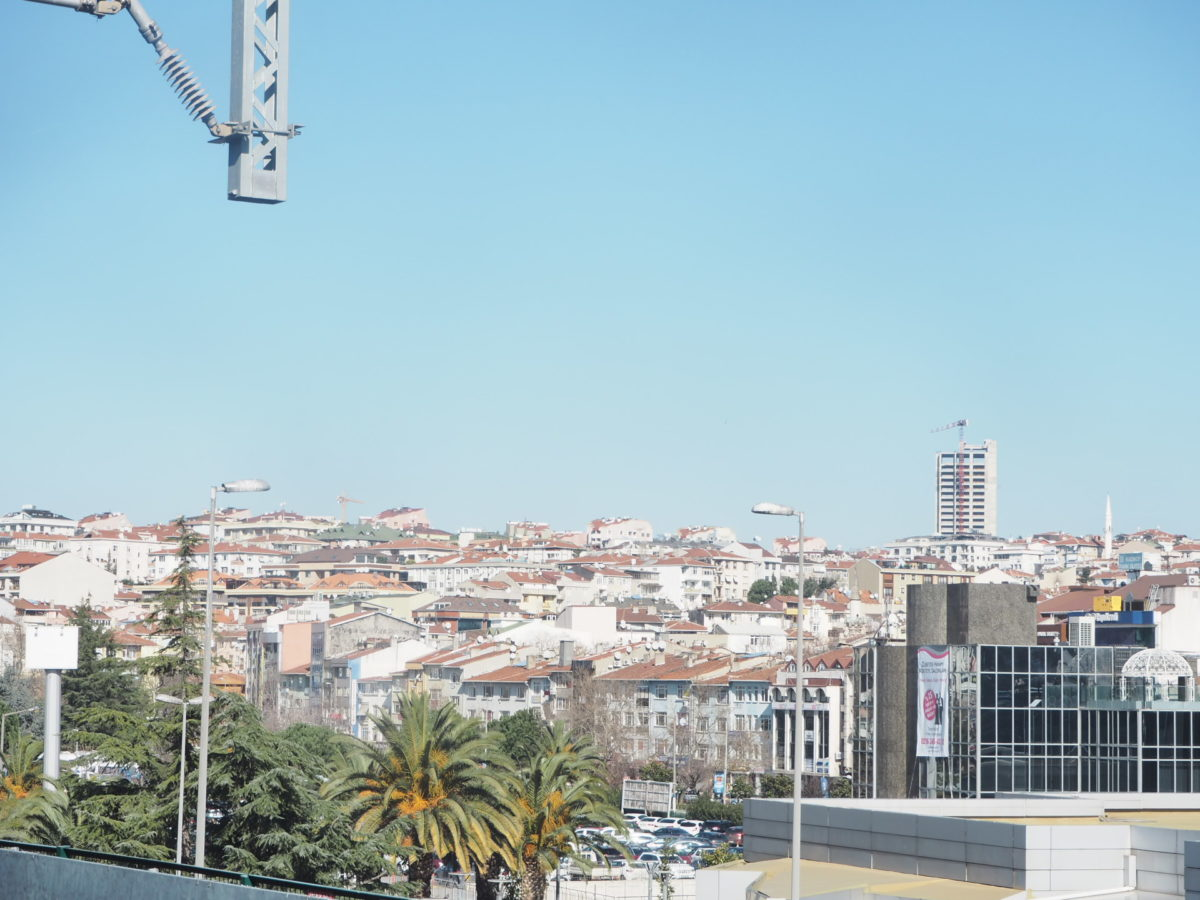 イスタンブールアジア側の街並み