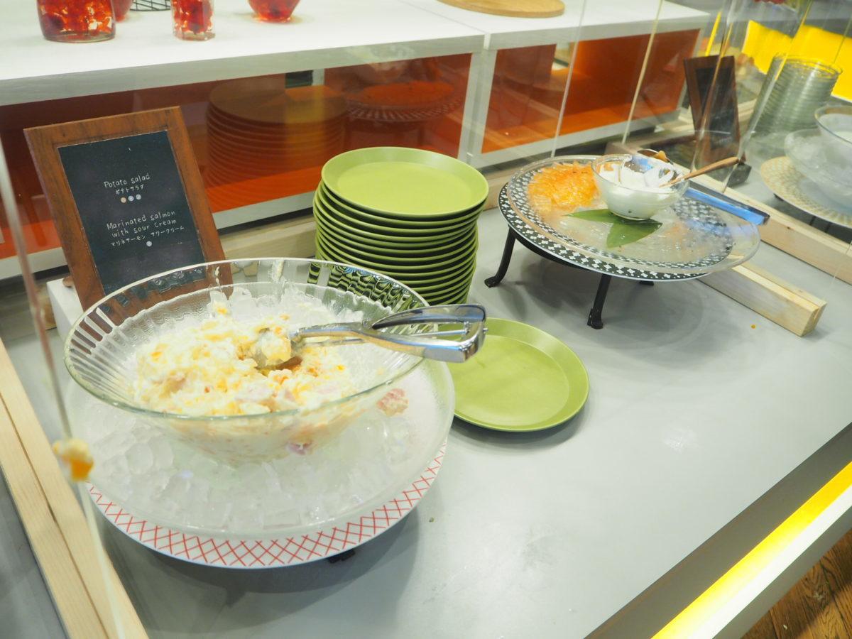 星野リゾートOMO7の朝食のポテトサラダ