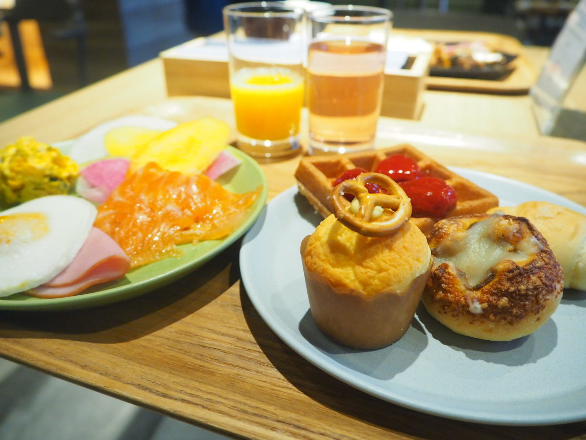 星野リゾートOMO7の洋朝食