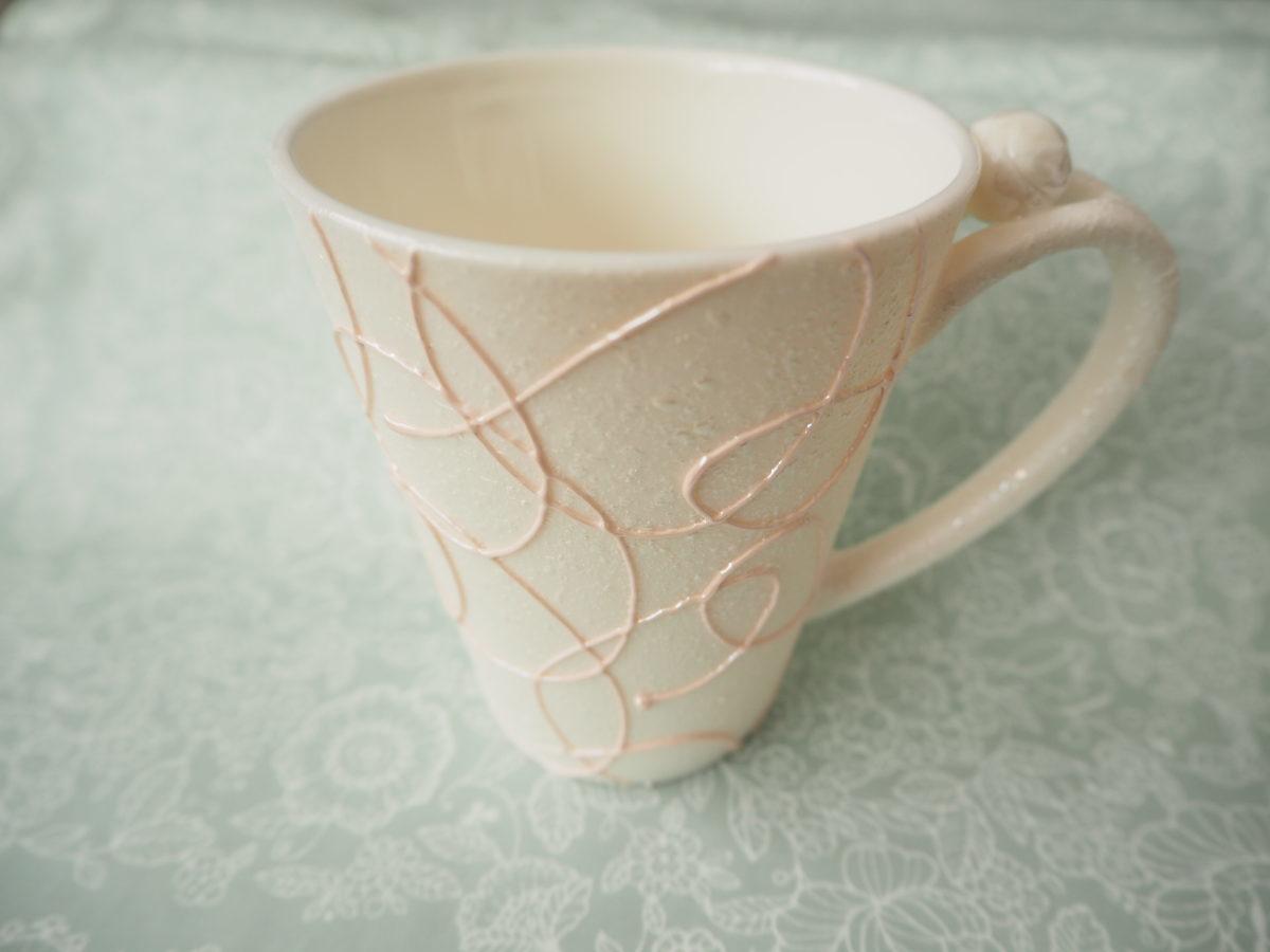 有田焼「まるぶん」のマグカップ