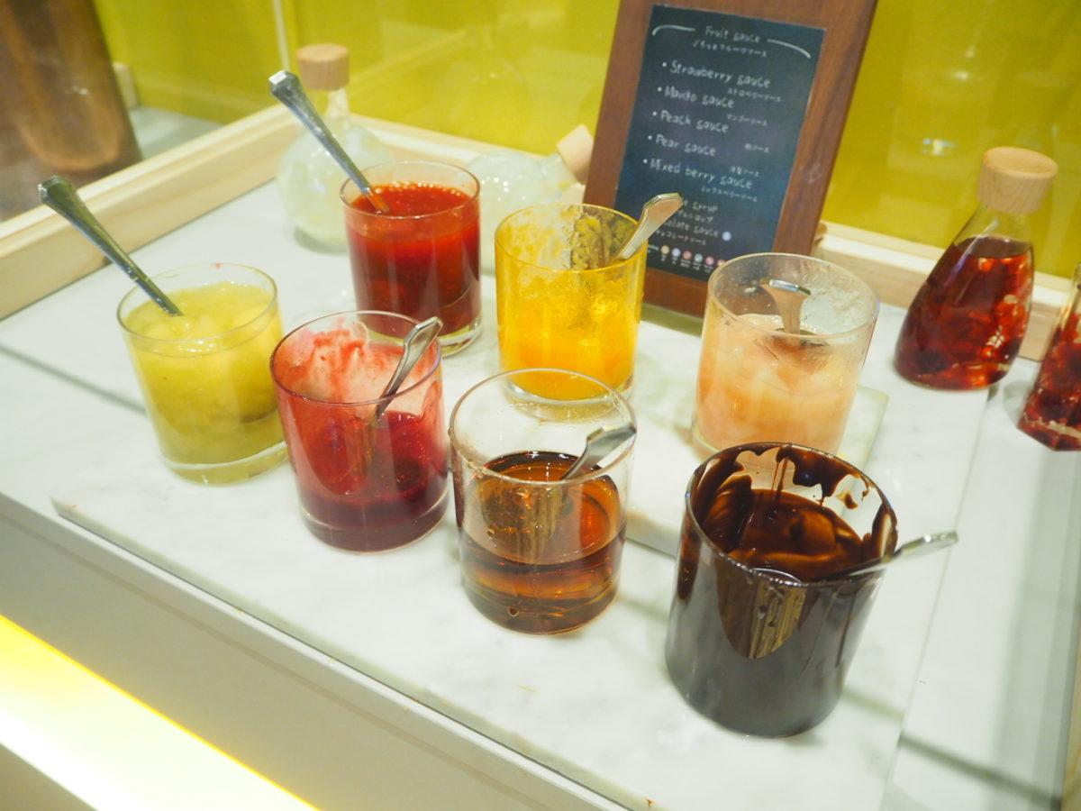 星野リゾートOMO7の朝食のジャムコーナー