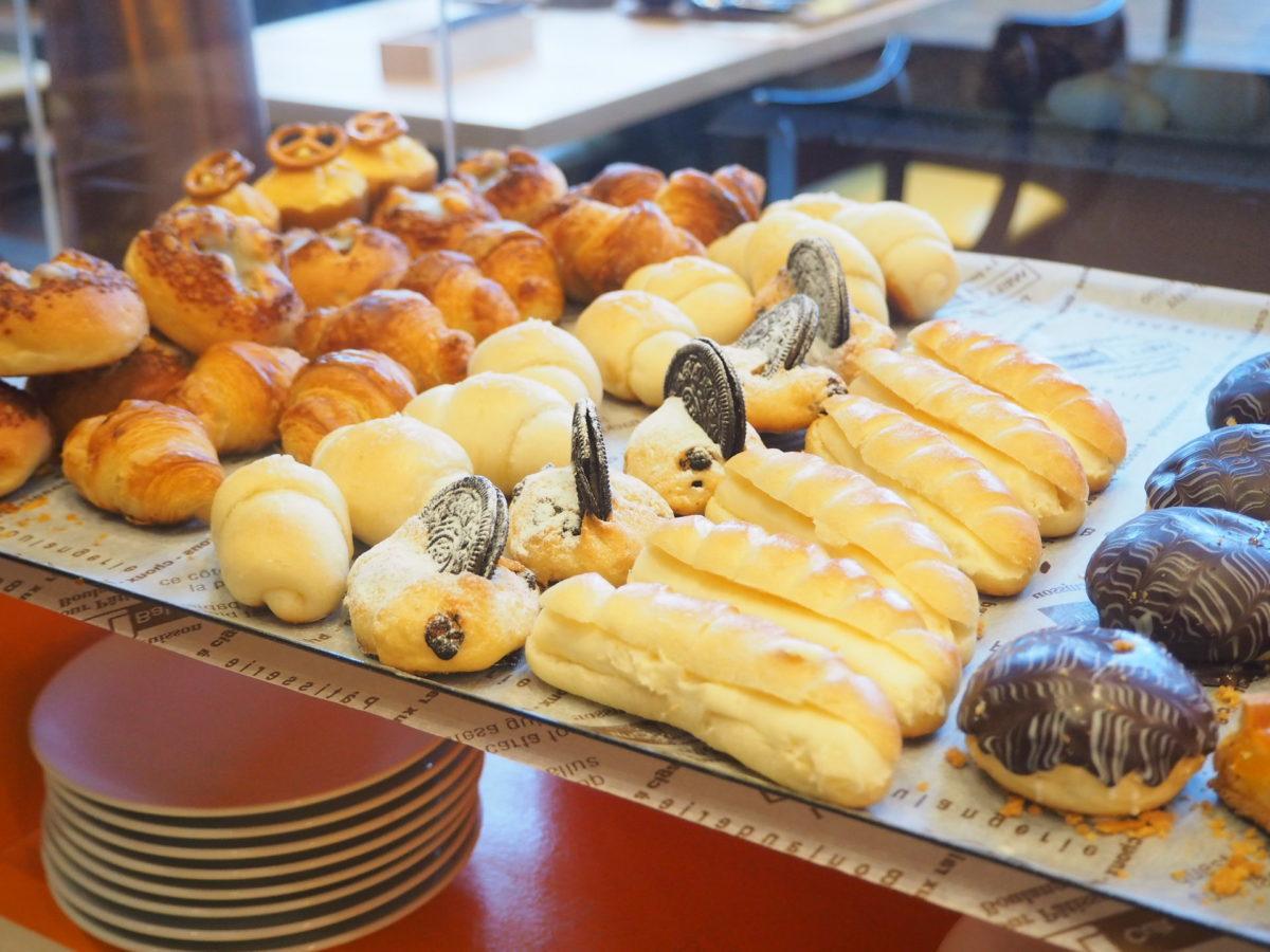 星野リゾートOMO7の朝食のパン