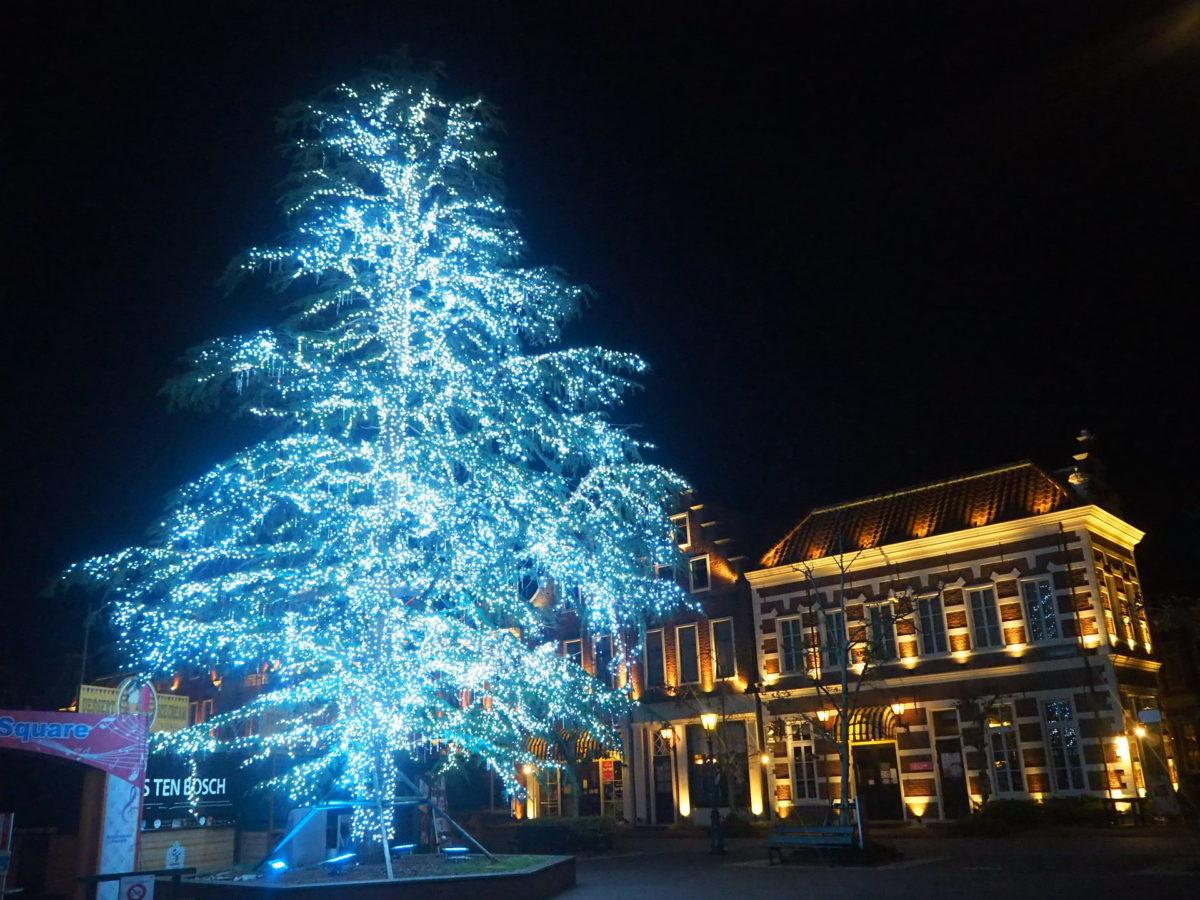 ハウステンボスのクリスマスツリー