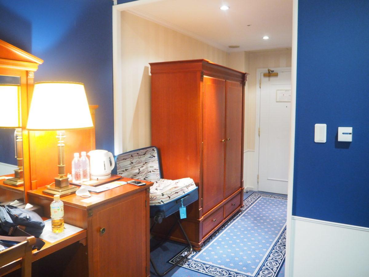 ホテルアムステルダムのスーペリアルーム設備