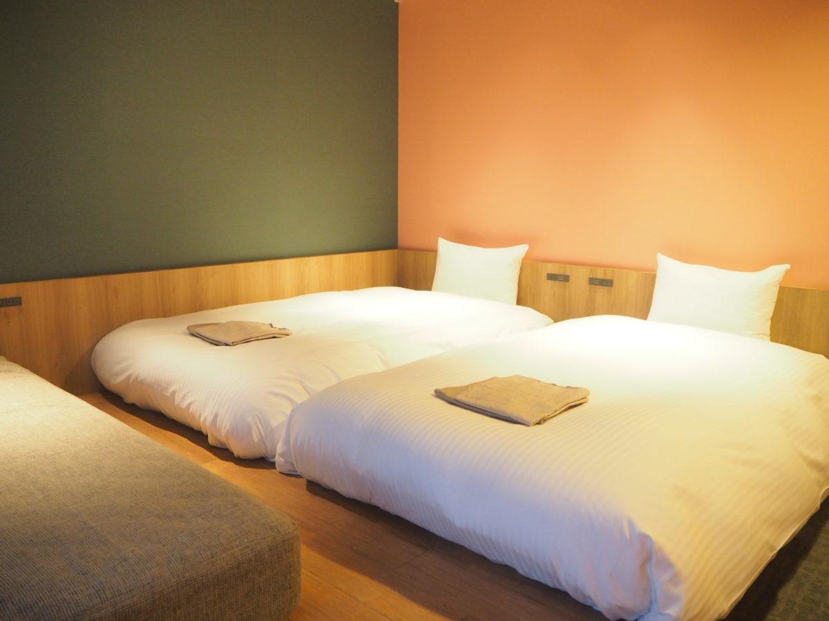 星野リゾートOMO7旭川の客室