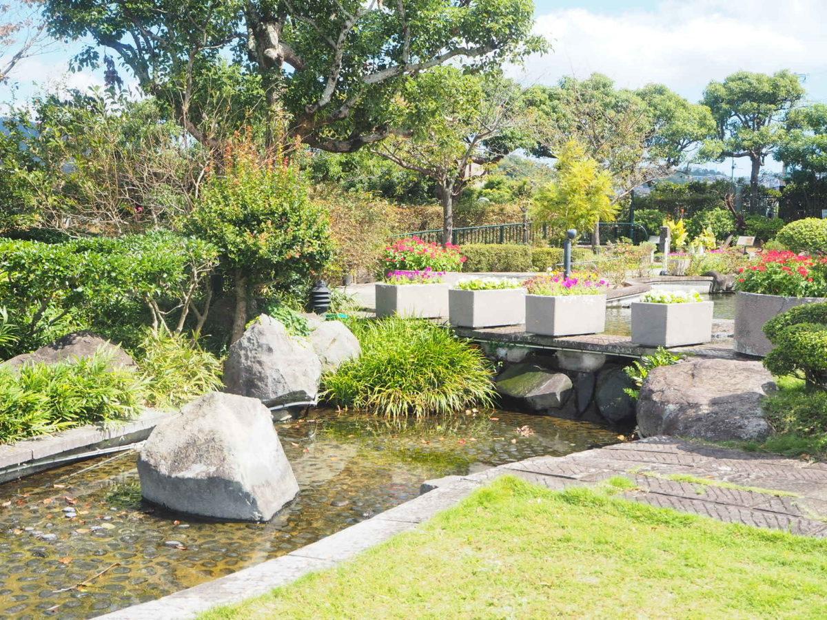 グラバー園の庭