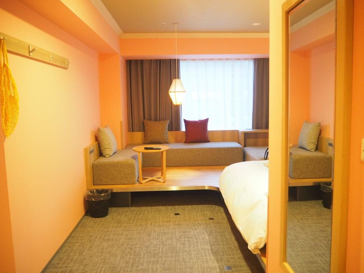 星野リゾートOMO7旭川の洋客室通路