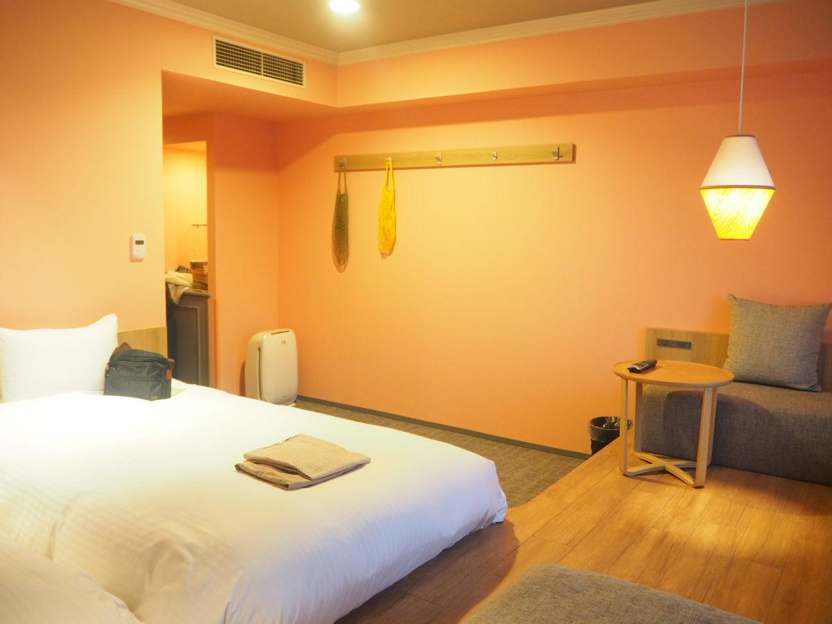 星野リゾートホテルOMO7旭川の客室