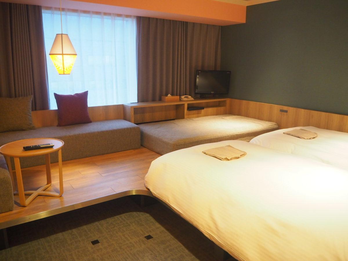 星野リゾートOMO7旭川の洋客室