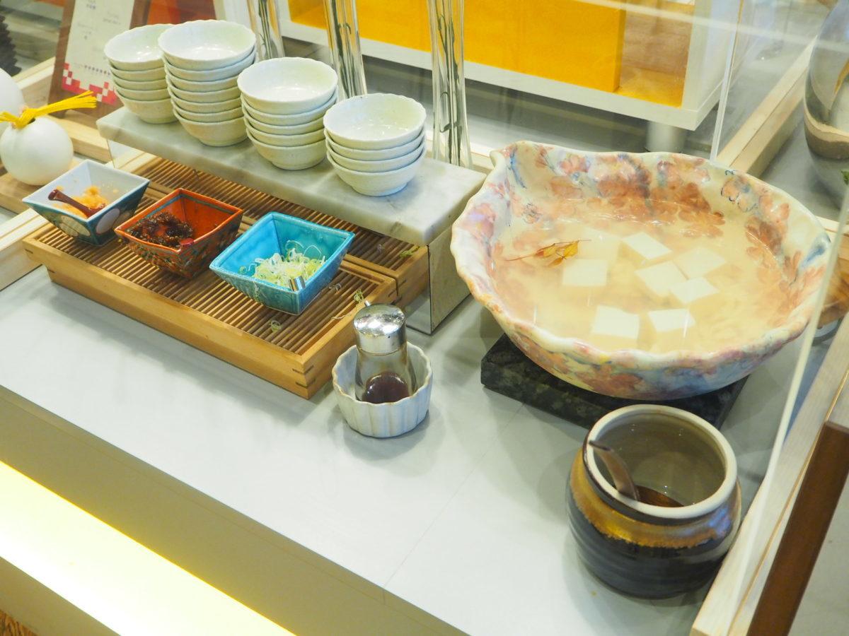星野リゾートOMO7の朝食のお豆腐